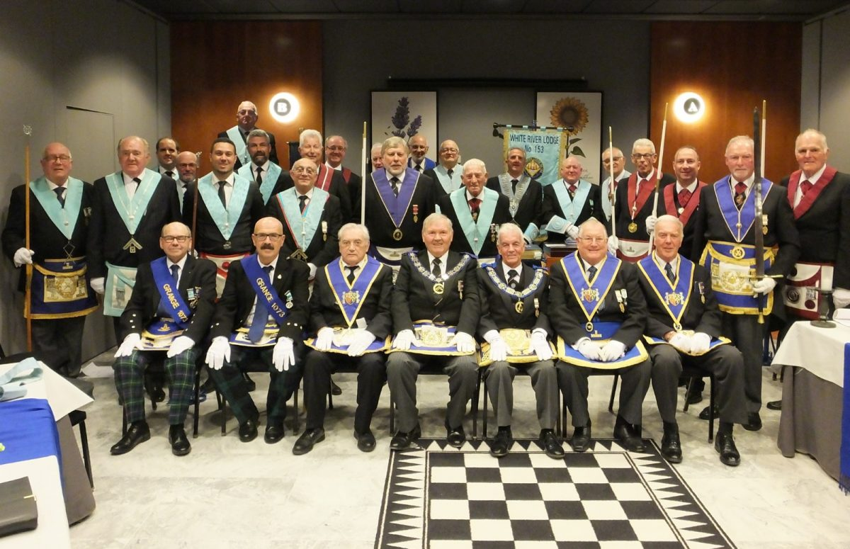 Official Visit to White River Lodge No 153