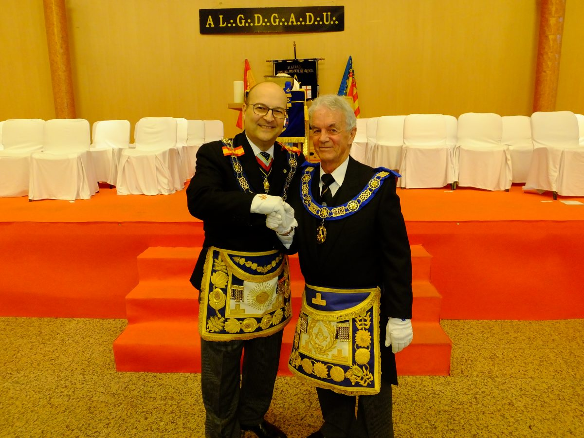 New Provincial Grand Master Installed