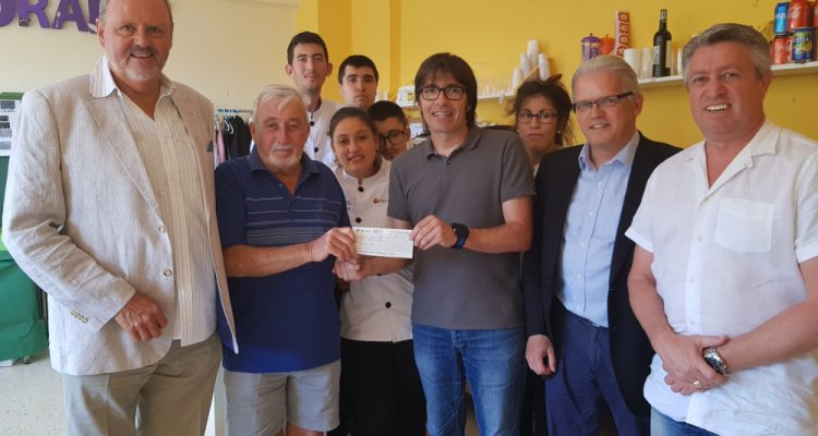 Local Masons donate huge sum to Raquel Paya School