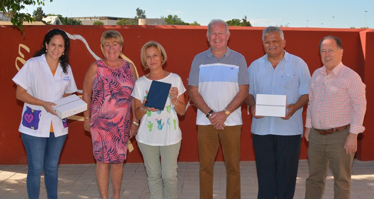 Local Freemasons from Old Tower Lodge donate €2200 to AFA Torrevieja
