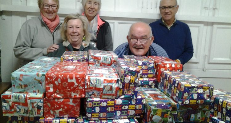 CHRISTMAS SHOE BOX APPEAL by Caledonia Lodge