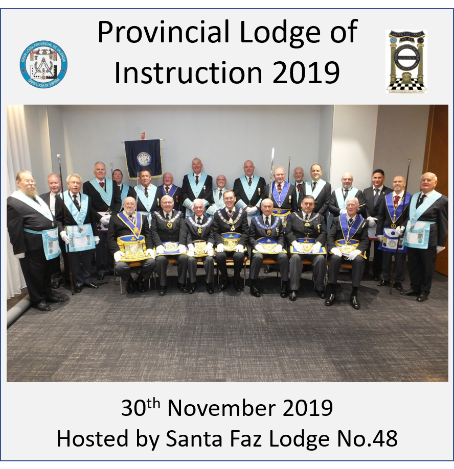 Provincial Lodge of Instruction 2019