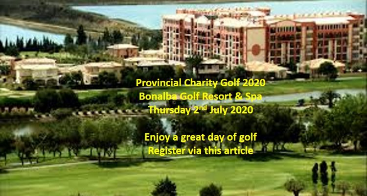 Provincial Charity Golf Tournament 2020