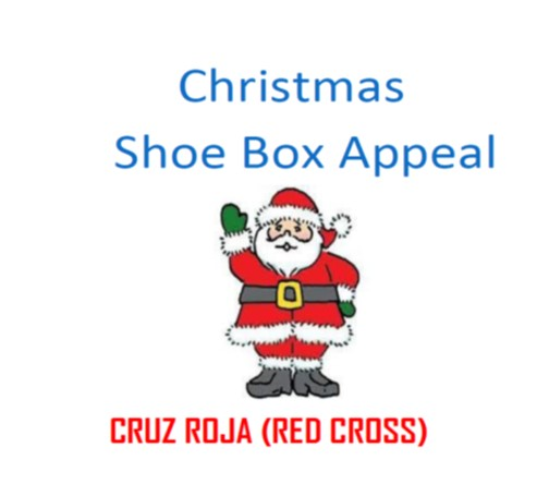 """Christmas """"Shoe Box"""" Appeal for Needy Children in the Torrevieja Area"""